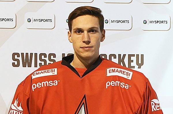 Torhüter David Fragnoli zu den HC Düdingen Bulls