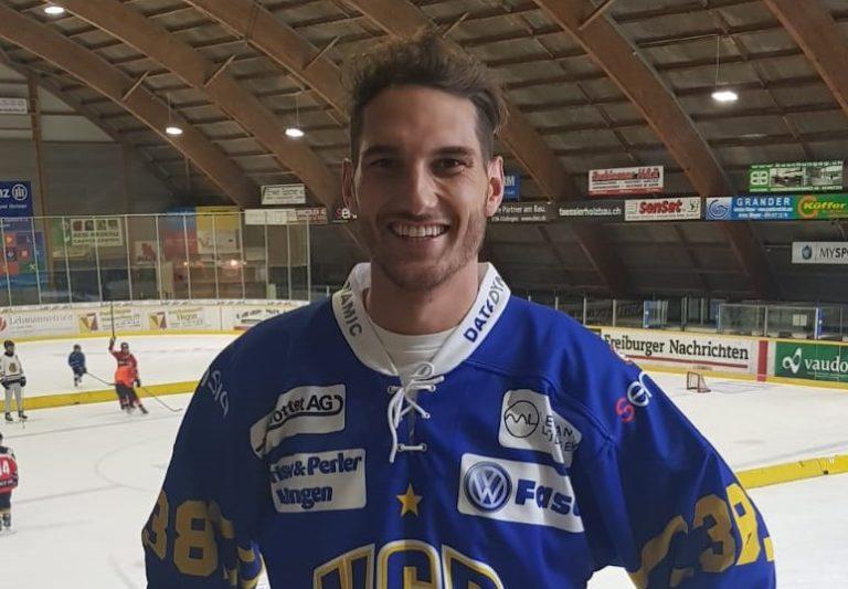 Janick Holzer zu den HC Düdingen Bulls
